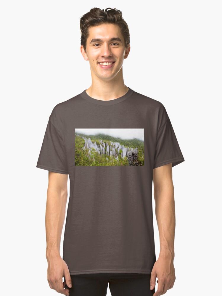 Alternate view of Limestone pinnacles at gunung mulu national park Classic T-Shirt