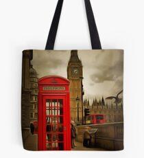 Westminster Phone Box Tote Bag