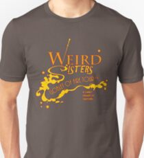 The Weird Sisters Goblet of Fire Tour '94 yellow T-Shirt