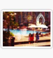 Thailand Symbols and Sculpture Sticker