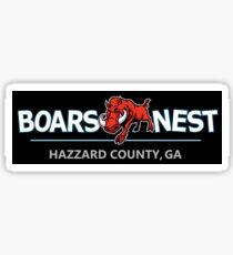 Dukes of Hazzard - Boar's Nest T-Shirt (Modern Redesign) Sticker