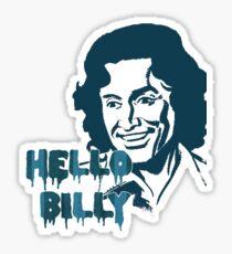 Hello Billy [blue-ish] Sticker