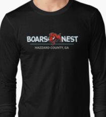 Dukes of Hazzard - Boar's Nest T-Shirt (Modern Redesign) Long Sleeve T-Shirt