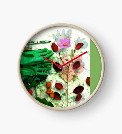 Gartenliebe Uhr