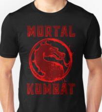 MORTAL  SPLATTER Unisex T-Shirt