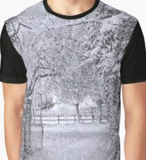 SnowFall Graphic T-Shirt