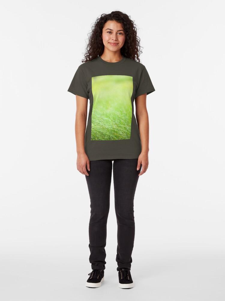 Alternate view of Wet grass Classic T-Shirt