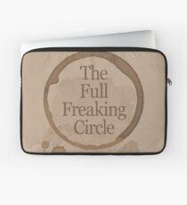 The Full Freaking Circle - Gilmore Girls Inspired Laptop Sleeve