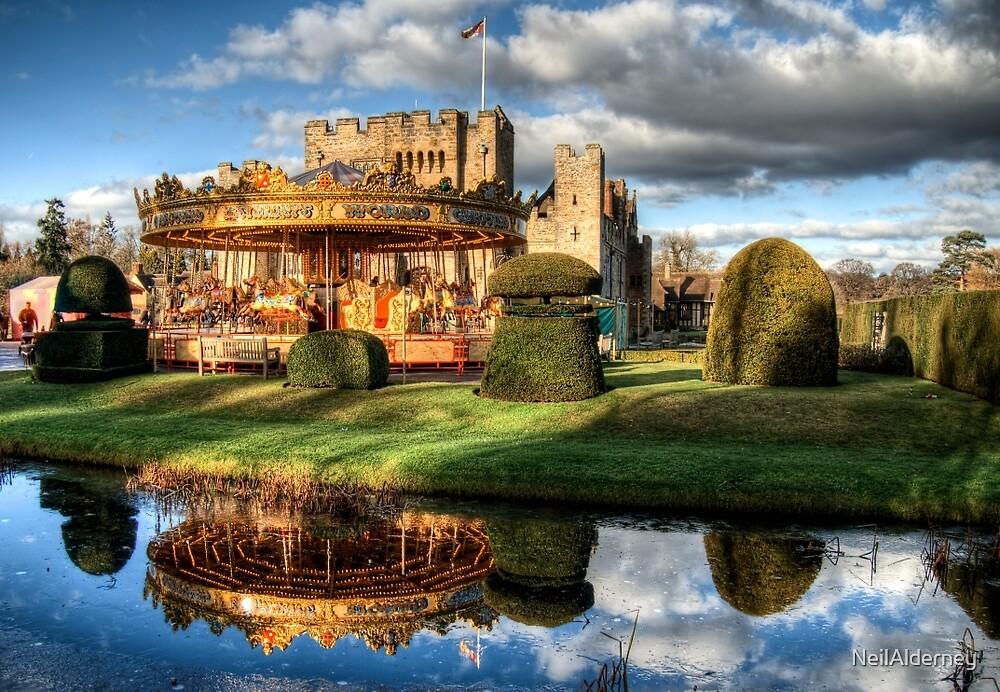 Carousel at Hever Castle. by NeilAlderney