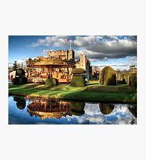 Carousel at Hever Castle. Photographic Print