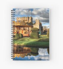 Carousel at Hever Castle. Spiral Notebook