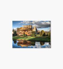 Carousel at Hever Castle. Art Board Print