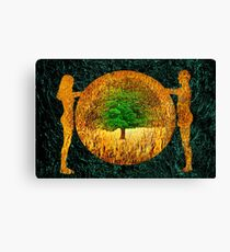 Tree of Life - Garden of Eden Canvas Print