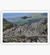 Millitary Helicopter Excersises Sticker