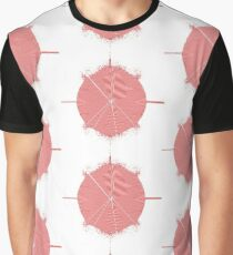 psychedelic red  Graphic T-Shirt