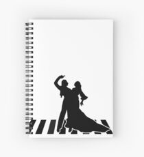 flamenco dancers Spiral Notebook
