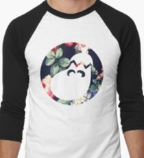 Floral Ice Climbers Men's Baseball ¾ T-Shirt