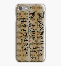 Stranger Things - Alphabet iPhone Case/Skin