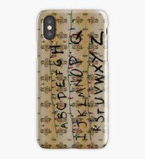 Stranger Things - Alphabet iPhone Case