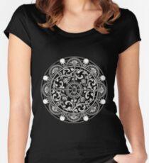 EP.  HYPNOTICSKULL III Women's Fitted Scoop T-Shirt
