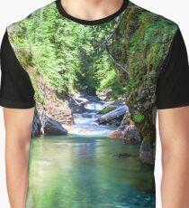 Wilderness Stream Graphic T-Shirt