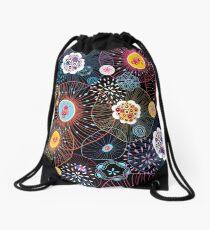 Bright abstract fantasy pattern Drawstring Bag