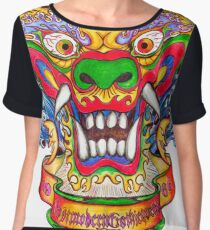 Dragon  Women's Chiffon Top