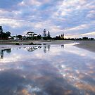Low Tide Reflection by Silken Photography