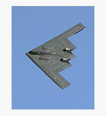 Northrop Grumman B-2A Spirit 82-1069/WM stealth bomber Photographic Print