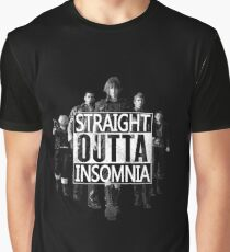 Straight Outta Insomnia Graphic T-Shirt