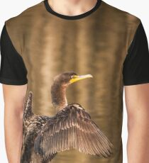 Cormorant perch and stretch Graphic T-Shirt