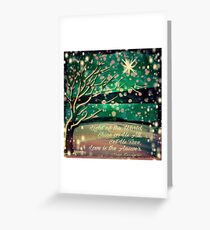 Love is the Answer Greeting Card