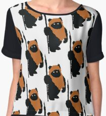 Ewok Bear, Star Wars Chiffon Top
