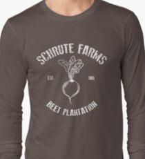 Schrute Beet Plantation Long Sleeve T-Shirt
