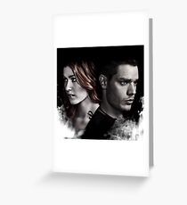 Clace Shadowhunters S2 Greeting Card