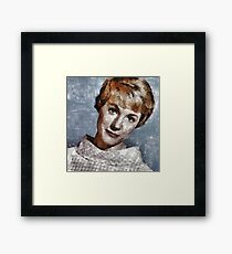Julie Andrews Hollywood Actress Framed Print
