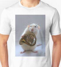 French horn. Unisex T-Shirt