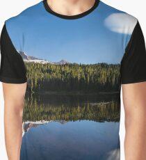 Mount Rainier and Reflection Lake Graphic T-Shirt
