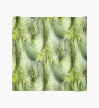 Cattail Fluff Abstract Pattern Scarf