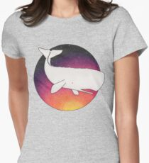 Doomed Whale No. 42 Womens Fitted T-Shirt