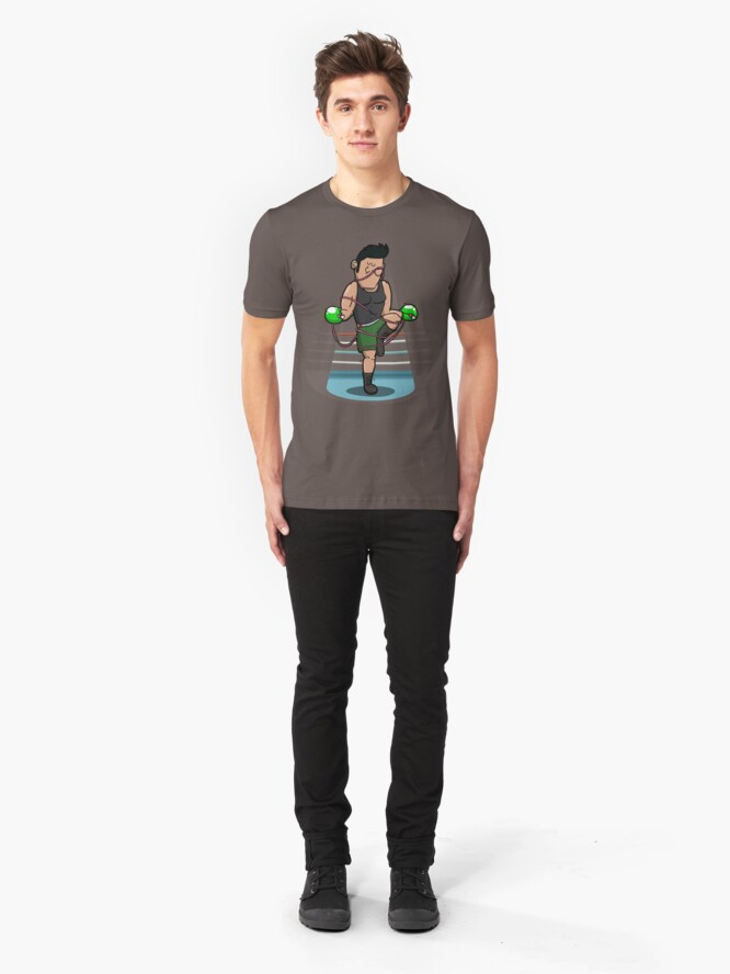 Alternate view of Mike'd better watch out! Slim Fit T-Shirt