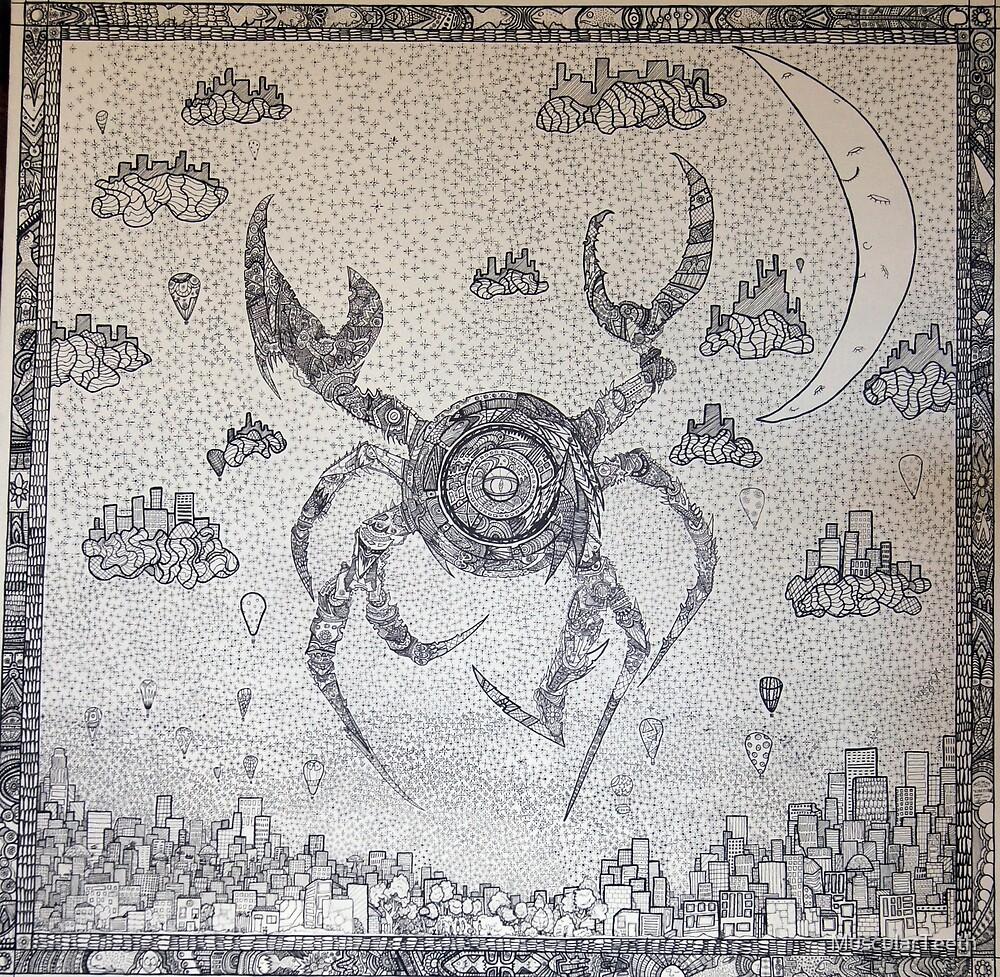 Cyber Crab by MuscularTeeth