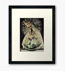 Black Madonna, Our Lady of Grace, Our Lady of Gate of Dawn, Virgin Mary Framed Print