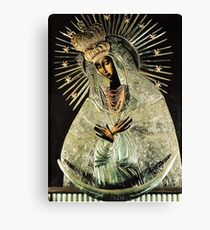 Black Madonna, Our Lady of Grace, Our Lady of Gate of Dawn, Virgin Mary Canvas Print