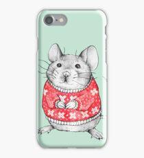A Festive Mouse iPhone Case/Skin