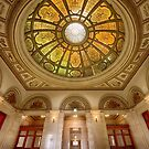 The Ceiling at the Chicago Cultural Centre by toby snelgrove  IPA