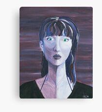 Violet Jane Painting Canvas Print