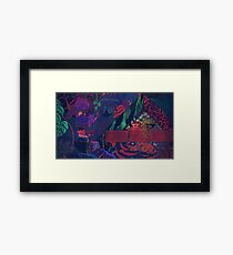 GLASS ANIMALS // BLACK MAMBO Framed Print