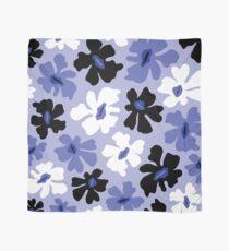 Rumpled Floral Print Scarf