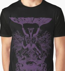 Electric Wizard - Baphomet (Purple) Graphic T-Shirt